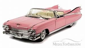 1959 Cadillac Eldorado Biarritz Convertible Pink  Maisto