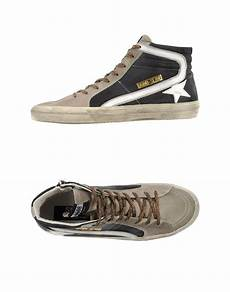 golden goose deluxe brand high tops trainers in brown