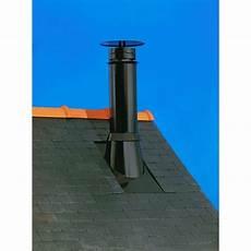souche de cheminée inox sortie de toit inox gamme therminox poujoulat