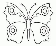 Malvorlagen Schmetterling Selber Machen Schmetterling Vorlage Zum Ausmalen Malvorlage