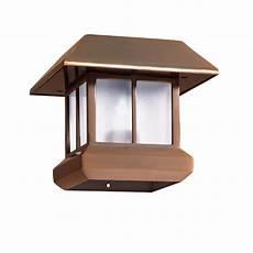 shop malibu 174 solar top light at lowes com