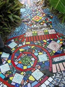 Mosaiksteine In Der Gartengestaltung Bastelideen Und Mehr