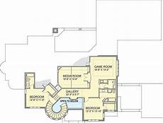 turret house plans european house plan with grand stair turret 100028shr