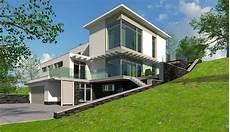 3 familienhaus modern modern family house photorealistic 3d max