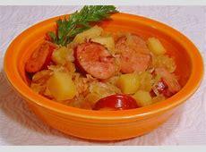 crock pot sauerkraut supper_image
