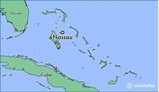 where is nassau the bahamas nassau new providence map