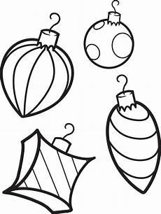 Malvorlagen Weihnachten Kugeln Free Printable Ornaments Coloring Page For