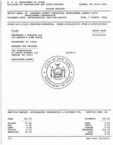 n y s department of state albany ny 12231 0001 filing
