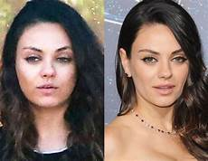 Mila Kunis From Without Makeup E News