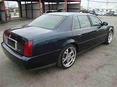 find used 2002 cadillac deville blue chrome wheels