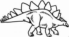 Ausmalbilder Dinosaurier Stegosaurus Stegosaurier Seitlich Ausmalbild Malvorlage Tiere