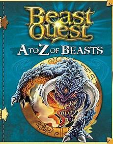 a to z of beasts beast quest by blade adam 1408338394