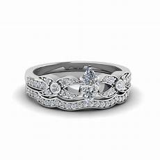 marquise cut flower pave diamond wedding ring in 14k white gold fascinating diamonds