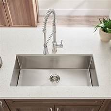 Faucet Sink Kitchen Pekoe Undermount 23x18 Single Bowl Kitchen Sink