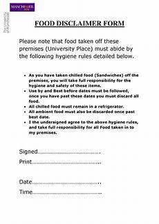 free 7 restaurant waiver forms in pdf ms word