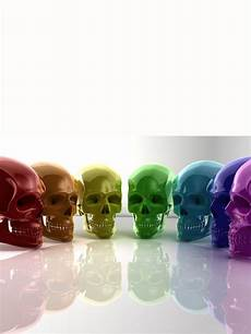 Different Colors Available Premium Skulls Rainbow Skulls Skull Wallpaper Crystal Skull Skull
