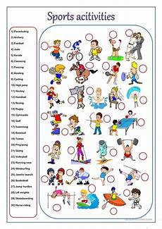 sport activities worksheet free esl printable worksheets made by teachers