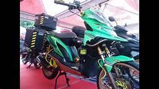 Modif Motor Matic Buat Touring kontes motor matic touring style honda beat modif keren