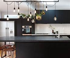 Kitchen Lighting Ideas Nz by Black And White Textures Add Drama To This Light Filled