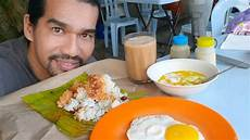 Breakfast No1 Malaysia Nasi Lemak Daun Pisang Dan Teh