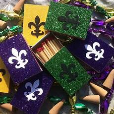 10 mardis gras new orleans themed matchbox wedding favors
