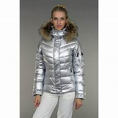 bogner sale d ski jacket premium trim edition in silver