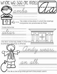 catholic cursive handwriting worksheets free 21705 cursive writing book catholic by a drop in the tpt