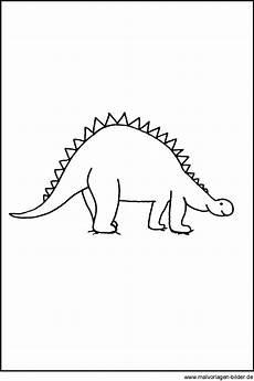 Malvorlage Dino Einfach Dinosaurier Window Color Bild Kostenlose Malvorlagen Und