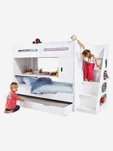 lit surélevé pour enfant lit superpos 233 enfant lit combin 233 taille unique magasin lits pour enfants vertbaudet
