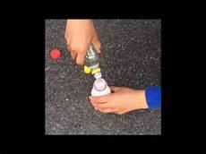 essig backpulver bombe