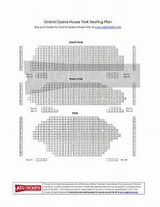 york opera house seating plan grand opera house york events tickets 2019 ents24