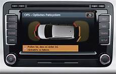 vw rns 510 vw ops optical parking system rns 510 rcd 510 mfd3 rns315