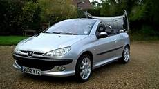 peugeot 206 cabrio 02 02 peugeot 206 coupe 2dr top convertible for sale