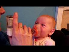 baby shows how to use inhaler uk family vlog