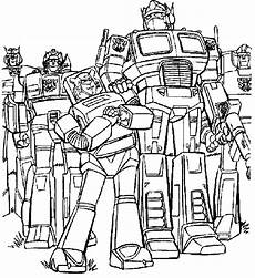 Malvorlagen Transformers The Last Transformers Are Unified Strong Coloring Page