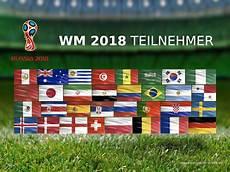 Flaggen Wm 2018 - fussball wm 2018 teilnehmer 002 hintergrundbild