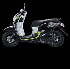 Skotlet Motor Scoopy 2018 by Jual Lis Atau Striping New Honda Scoopy Sporty 2017 Hitam