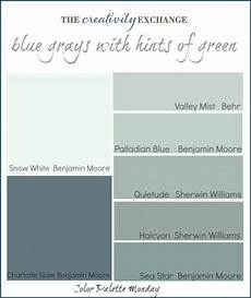 color palette monday 1 blue gray paint colors blue gray paint blue paint colors