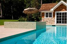 nj perimeter overflow pool and spa by cipriano custom swimming pools and landscaping earns