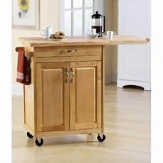 Kitchen Cart Island Walmart by Mainstays Kitchen Island Cart Wood 42 75 Quot L X