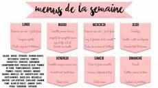Healthy M 233 Lissa Organisation Des Repas De La Semaine