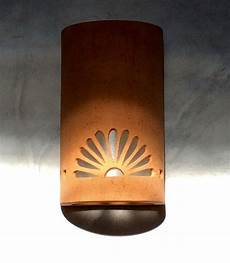 wall sconce half rosette southwestern lighting spanish style wall sconce ceramic wall