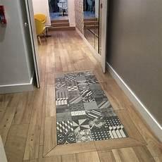 Carreaux De Ciment Plus Parquet Decorating Tiled