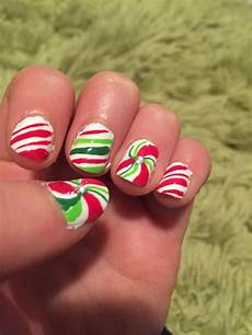 candy cane nails candy cane nails diy nail designs