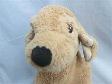 ikea gosig golden brown puppy soft plush stuffed