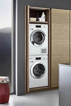 Waschmaschine In Der Küche - leicht topos space efficient integrated modern washer
