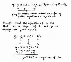 write the equation of a line in slope intercept form write an equation of the line in point slope form tessshebaylo