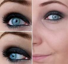maquillage pour aux yeux bleus maquillage yeux bleus noir