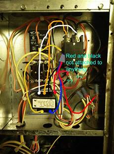 thermostat adding a c common wire to hvac system home improvement stack exchange