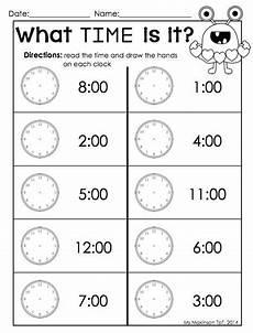 time worksheet kindergarten to the hour 3586 february printables kindergarten literacy and math kindergarten worksheets homeschool math